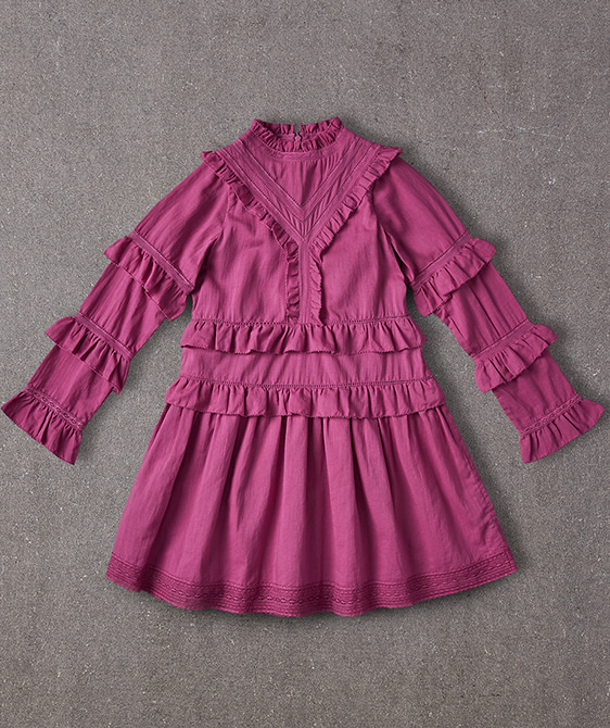 Elizabeth Dress - Plum