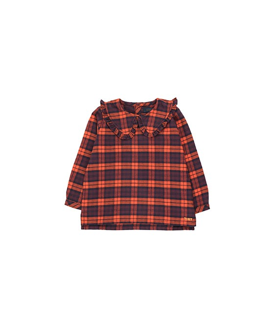 Check Shirt - Navy/Red