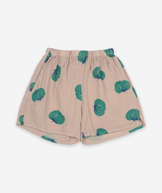 Tomatoes All Over Woven Shorts #121AC073/206