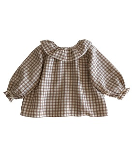 Oana Blouse - Check