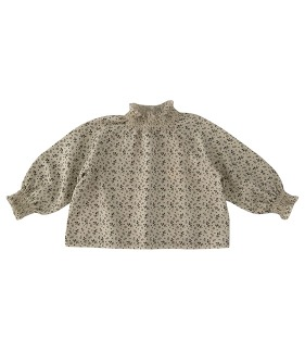 Smocked Blouse - AOP Floral  ★ONLY 6-8Y★