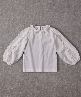 Gaia Blouse - Bright White ★ONLY 4Y★