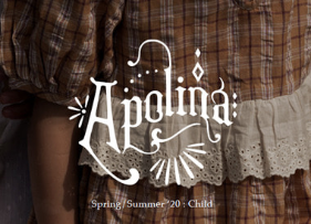 Apolina Kids SS20 Look Book