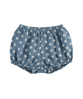 Poppy Bloomers - Upsy Daisy Floral On Moss Crepe