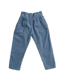 Aria Trousers - Blue Corduroy