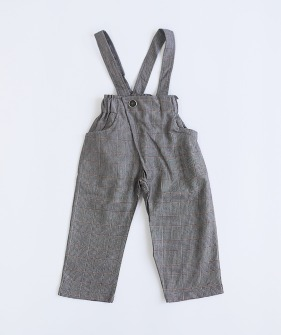 Dalston Trousers - Black Check