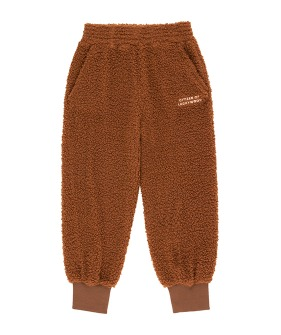 Citizen Of Luckywood Sweatpant - Dark Brown/Light Cream ★ONLY 2Y★
