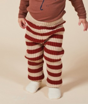 Striped Knitted Leggings (Baby) #00066