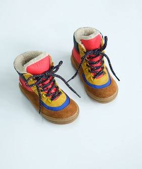 Solid Chunky Boot - Multicolor