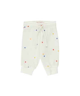 Ice Cream Dots Baby Sweatpant - Off-White