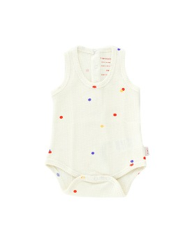 Ice Cream Dots Body - Off White