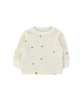 Ice Cream Dots Baby Sweatshirt - Off-White