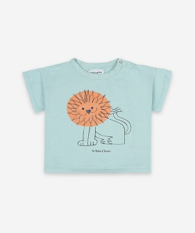 Pet a Lion Short Sleeve T-shirt (Baby) #121AB003/353
