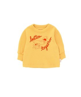 Better Together Baby Sweatshirt - Yellow/Red