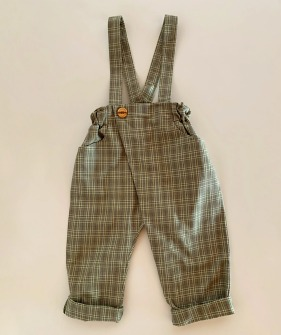 Dalston Trousers - Green Check